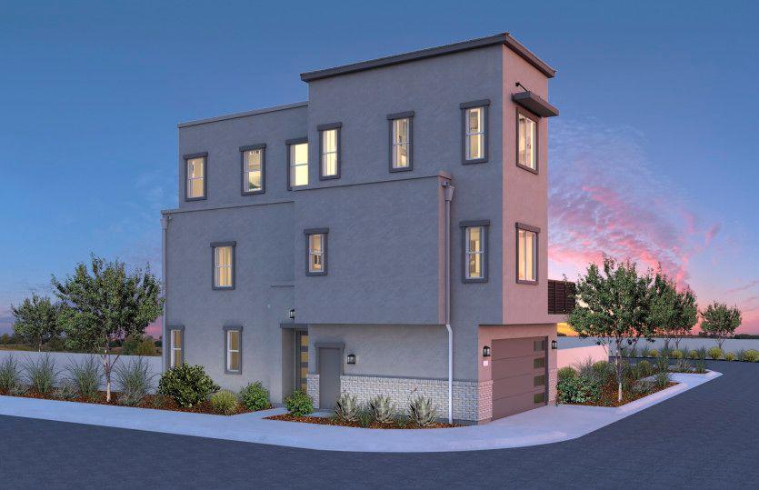 Residence 1:Elevation 1B
