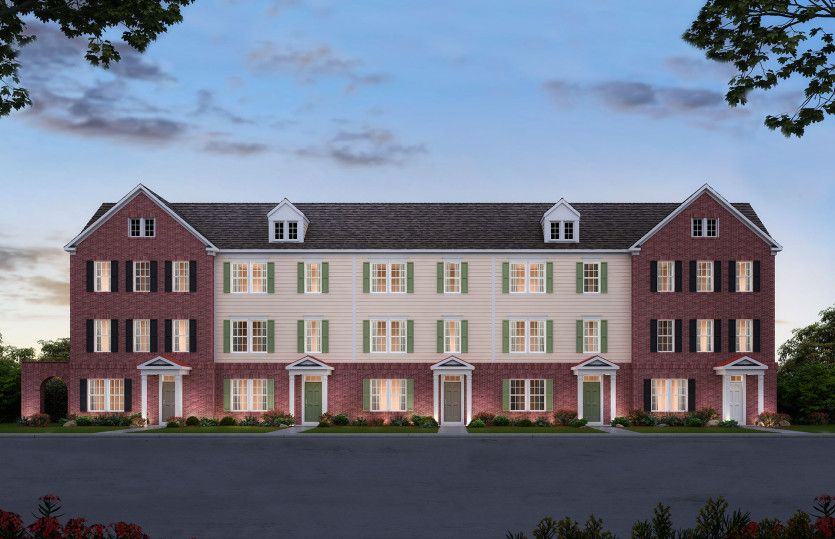 Stein:Stein Townhome at Crossing at Radburn