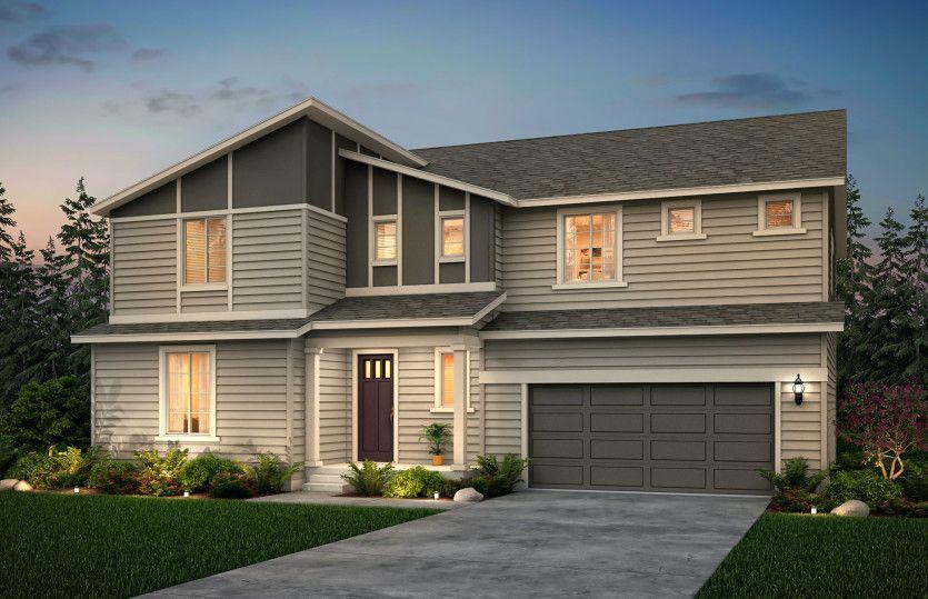Exterior:Stanwood design in exterior option D