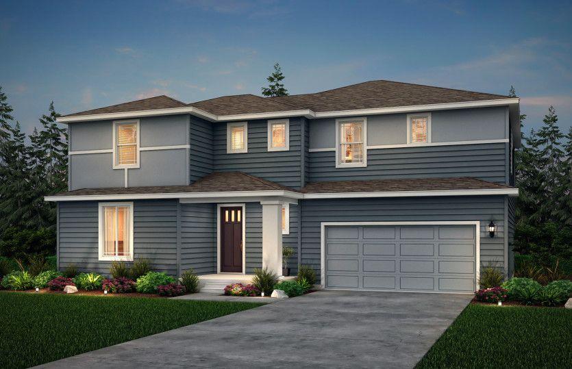 Exterior:Stanwood design in exterior option C