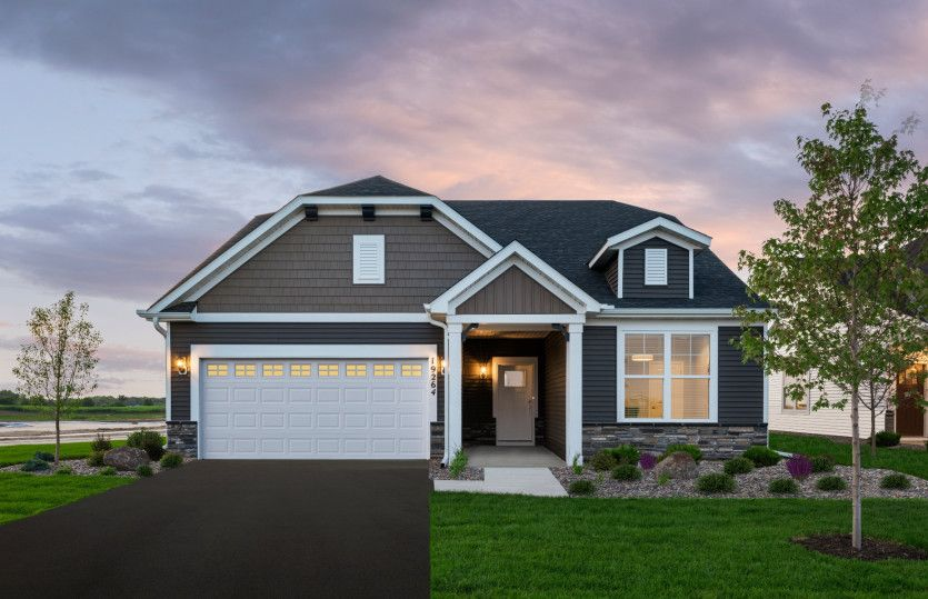Abbeyville with Basement:Abbeyville Model   Bellwether in Corcoran
