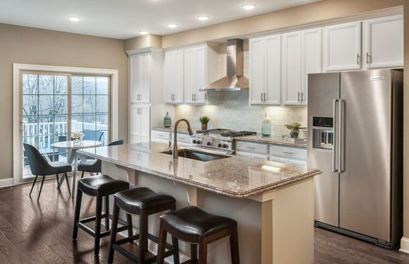 Shire:Designer kitchen with larger center island