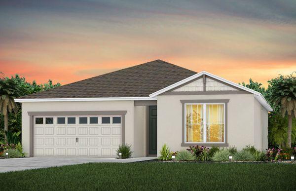 Brookwood:New Construction Home Exterior C1