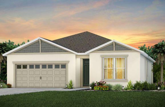 Cedar:New Home Exterior - Cedar C1
