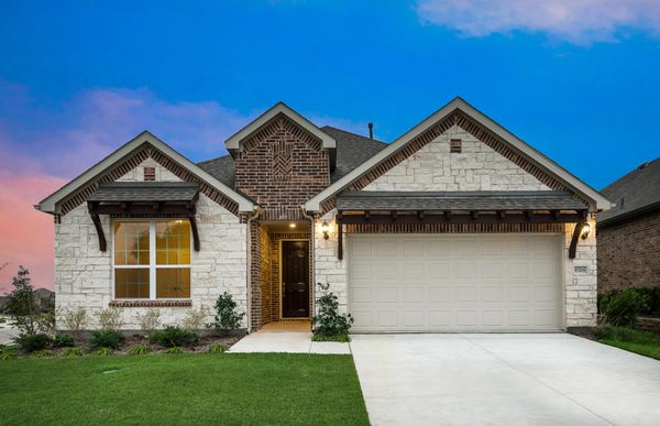 Mooreville:The Mooreville, a two-story home with 2-car garage, shown with Home Exterior D
