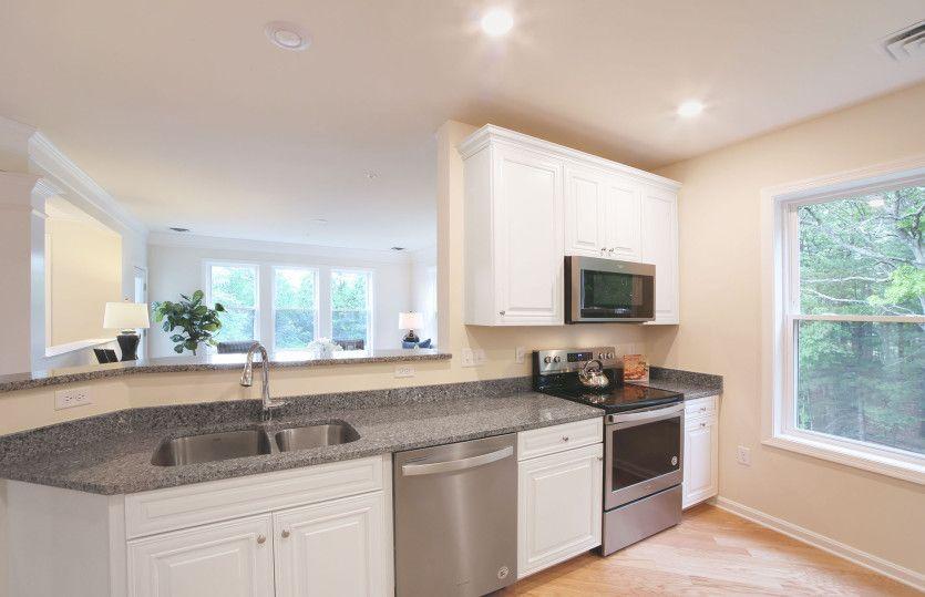Addison:Kitchen with Granite Counters