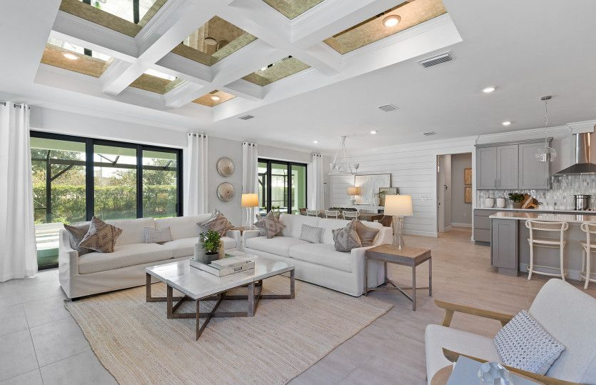 Reverence:Connected living spaces with bright windows, perfect feature in a new construction home