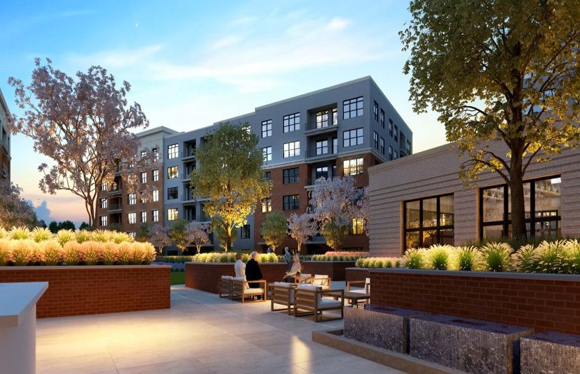 2.2D - Building 4:New luxury 1-level elevator condos in Fairfax just footsteps from the Vienna/Fairfax Metro!