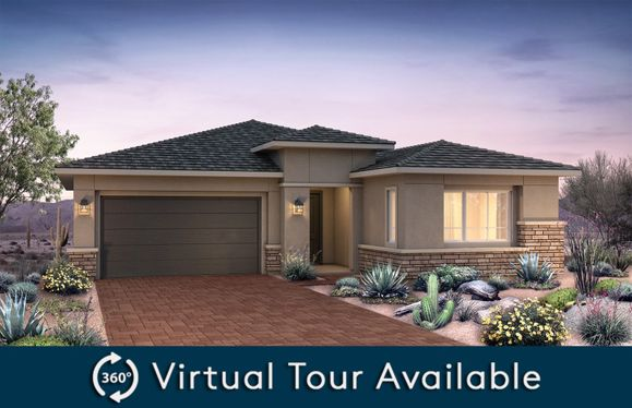 Trieste:New Home Construction in Phoenix - Trieste Exterior A