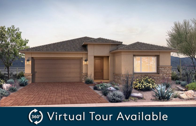 Verona:New Home Construction in Phoenix - Verona Exterior A