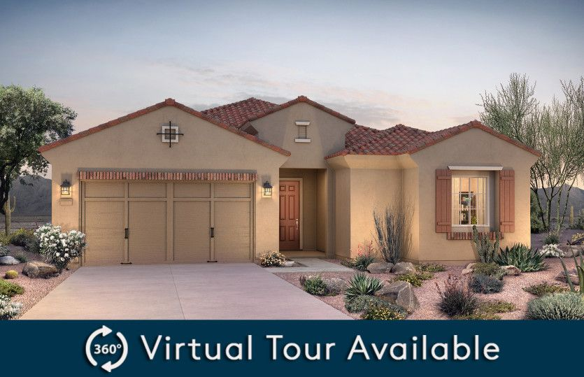 Parklane:Parklane Elevation A Home For Sale in Goodyear