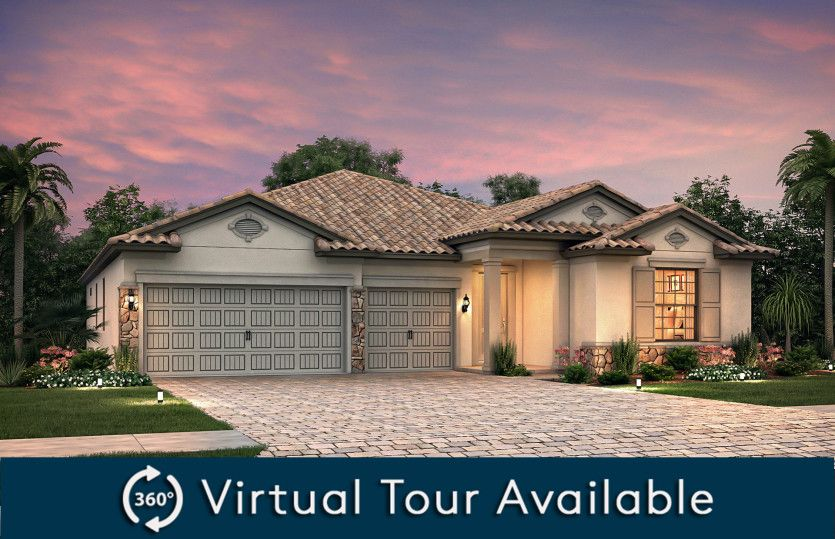 Creekview:Exterior FM2B with stone