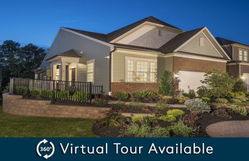 Florence with Basement:Pulte Home Builders Florence with Basement at Hunterdon Creekside