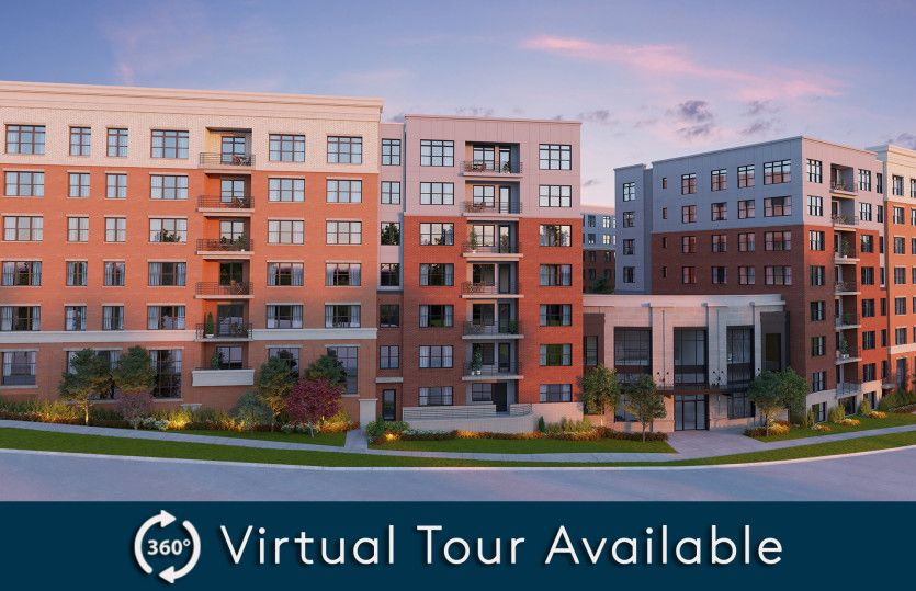2.2A - Building 2:New luxury 1-level elevator condos in Fairfax just footsteps from the Vienna/Fairfax Metro!