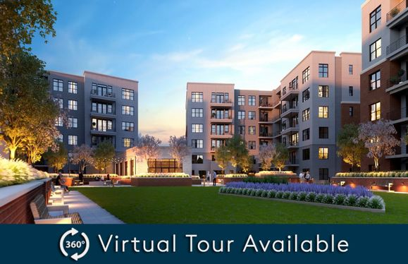2.2A - Building 3:New luxury 1-level elevator condos in Fairfax just footsteps from the Vienna/Fairfax Metro!