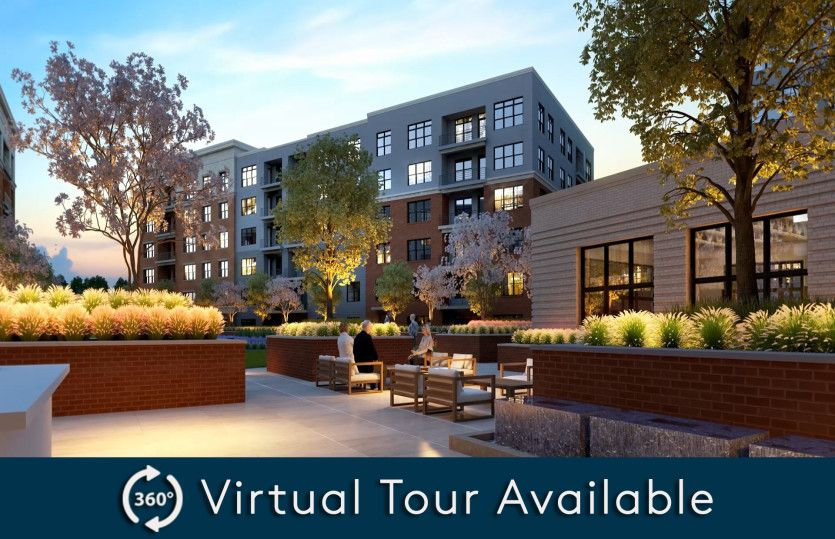 2.2C - Building 4:New luxury 1-level elevator condos in Fairfax just footsteps from the Vienna/Fairfax Metro!