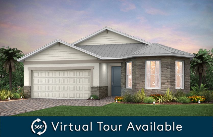 Marina:Home Exterior C2A with optional metal roof