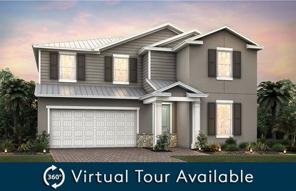 Sandhill:Home Exterior FM2C with optional metal roof