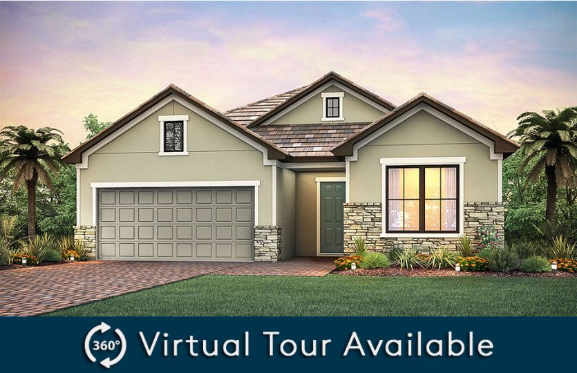 Abbeyville:Home Exterior LC2B with flat tile roof