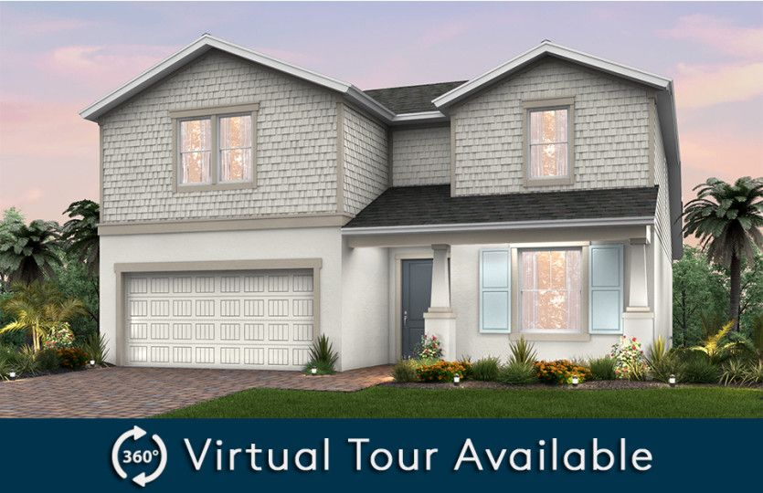 Citrus Grove:Home Exterior C2B with front porch