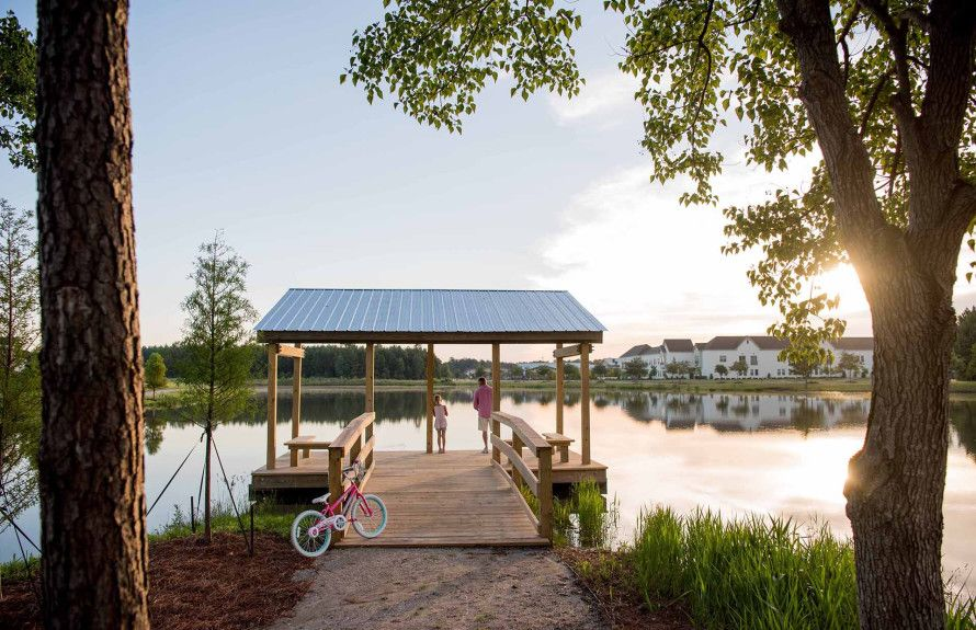 Carnes Community Dock