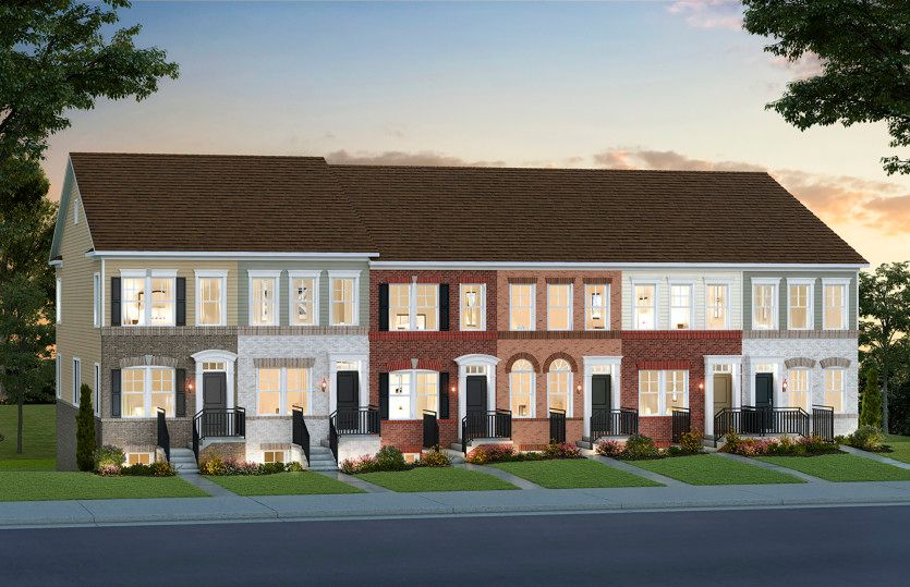 Baywood - Mid-Level Entry:Germantown's New Luxury Towns with Main Level Entry