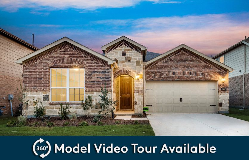 Orchard:The Orchard, a one-story home with 2-car garage