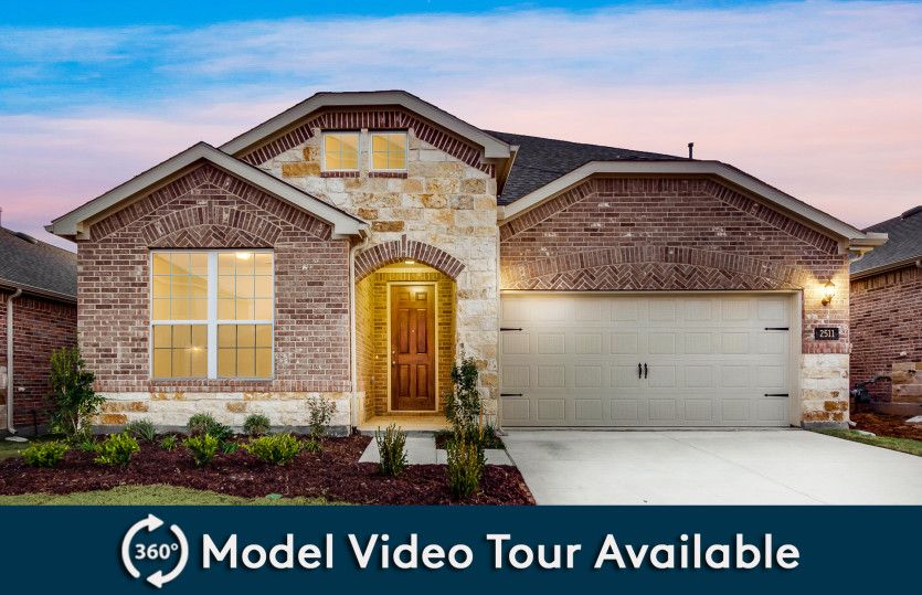 Keller:The Keller, a two-story home with 2-car garage