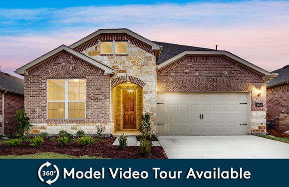 Keller:The Keller, a two-story home with 2-car garage, shown with Home Exterior 34