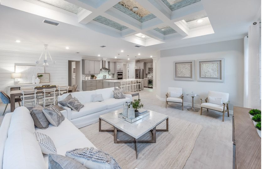 Reverence:New construction home layout ideal for entertaining guest