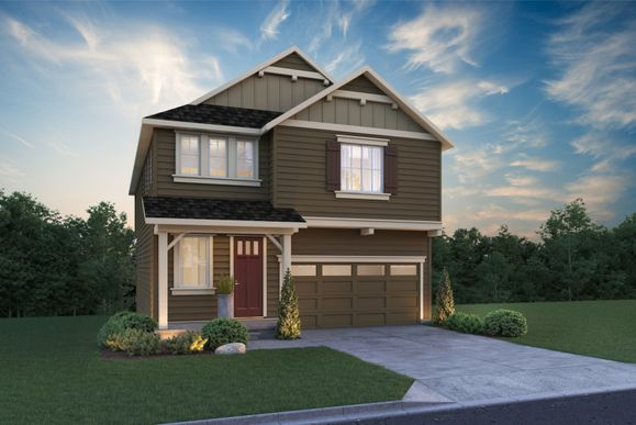 Andover II:Andover with Basement exterior A