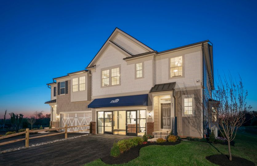 Exterior:New Construction Northbrook Carriage Townhome