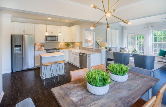 Open Concept Living Floorplans