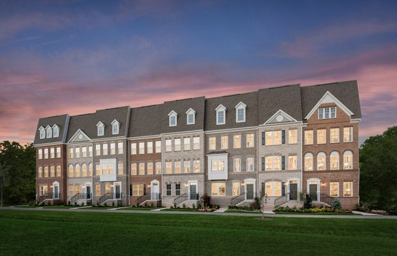 Frankton with Rooftop Terrace:Germantown's New Luxury Towns