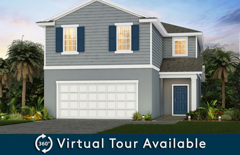 Winstone:New Vacation Home for Sale in Kissimmee - Winstone Elevation A