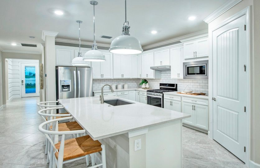 Mystique:Kitchen with designer finishes
