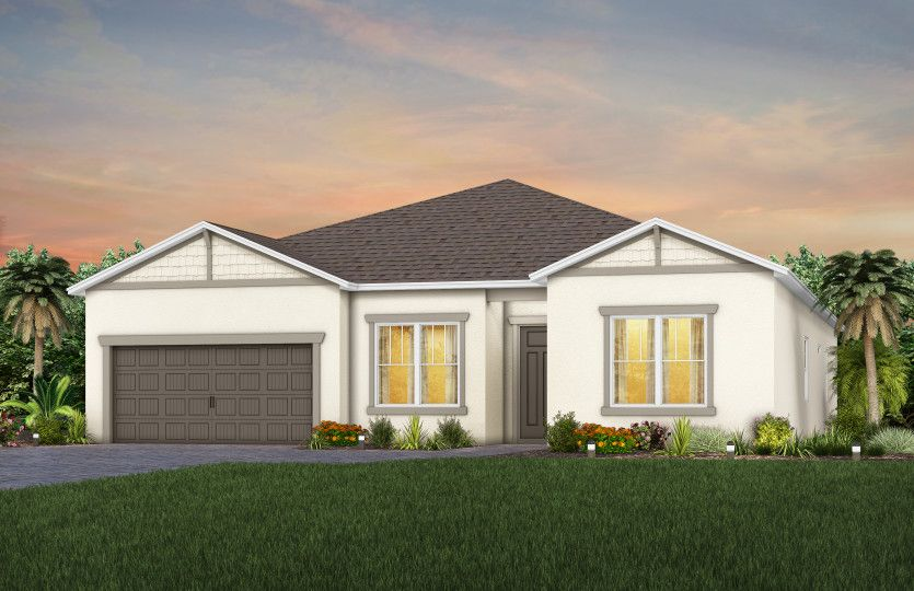 Exterior:New Homes For Sale - Elevation C1
