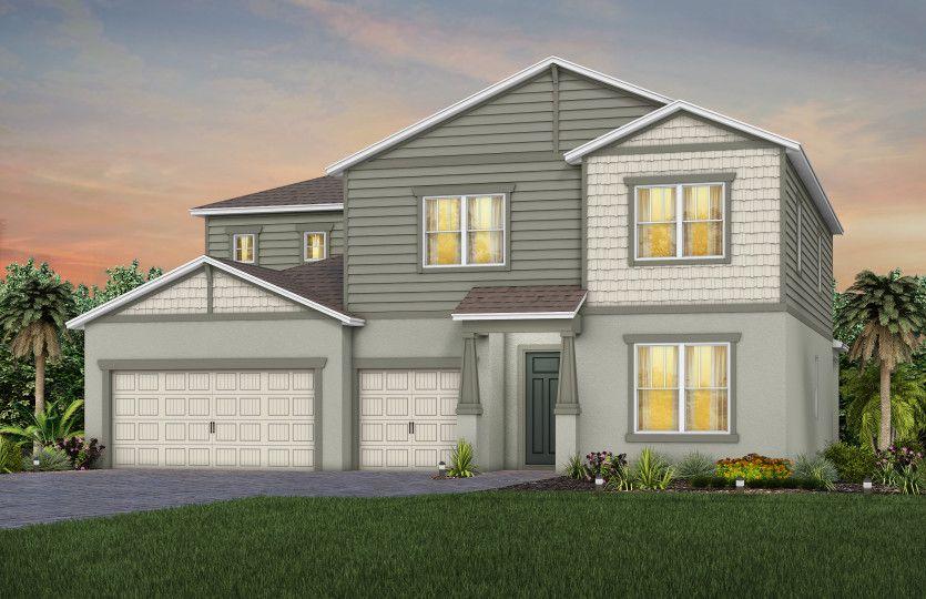 Oakhurst:New Home For Sale - Elevation C1