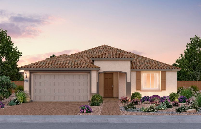 Gardengate:Now Pre-Selling from Solitude at Skye Canyon