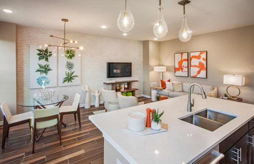 Union:Open concept floor plan found in new construction homes