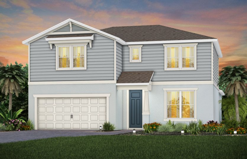 Exterior:New Construction Whitestone Home for Sale - C1