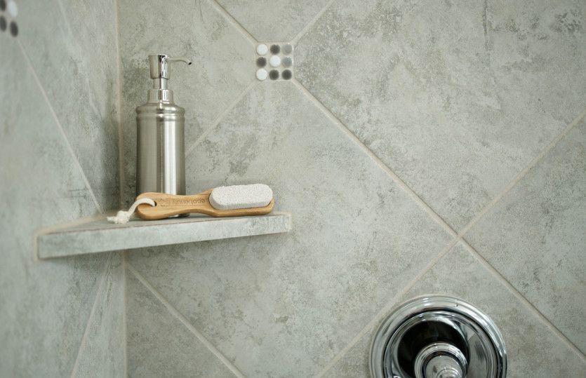Cordell:Tile Surround Shower