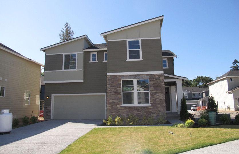 Exterior:Lynwood design with contemporary exterior