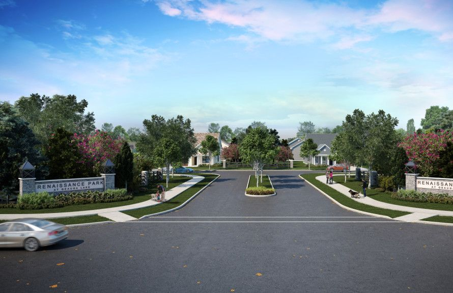 Rendering of Streetscape