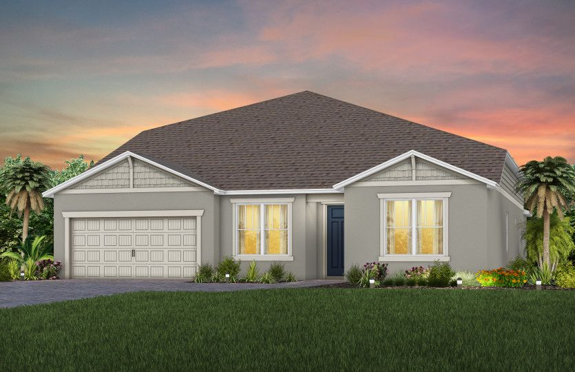 Easley Grand:New Home Exterior C1