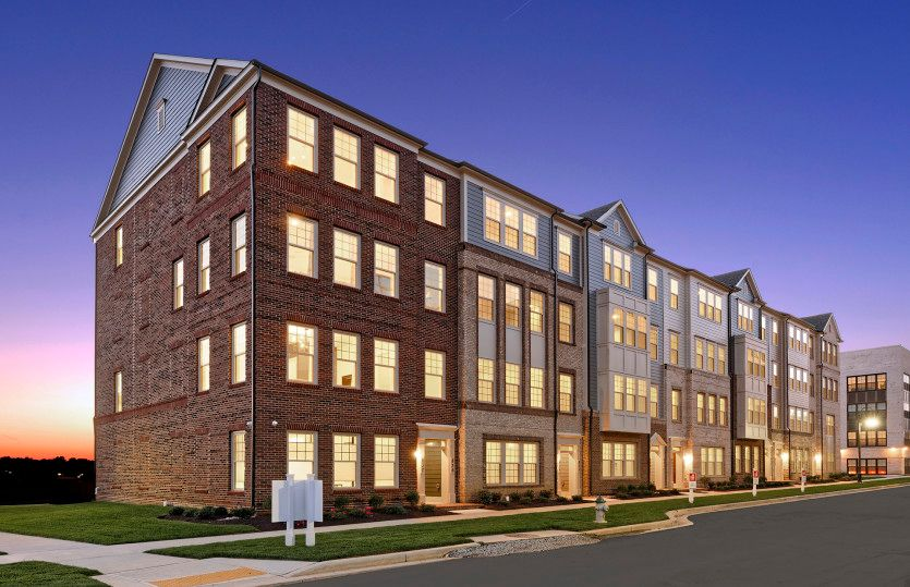 Exterior:New 2-Level Luxury Condos Featuring a 1-Car Garage