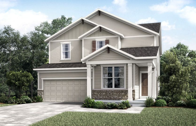 Park Place:Craftsman with Stone | CR2G