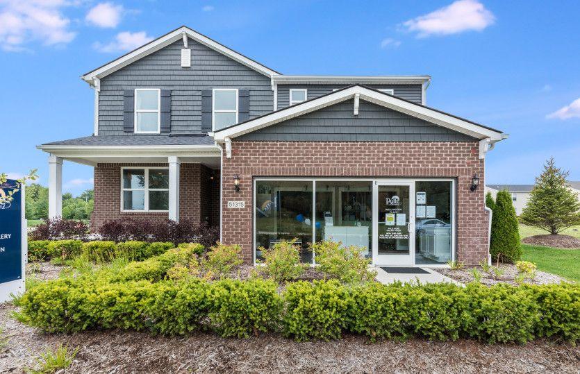 Exterior:Aspire Model Home