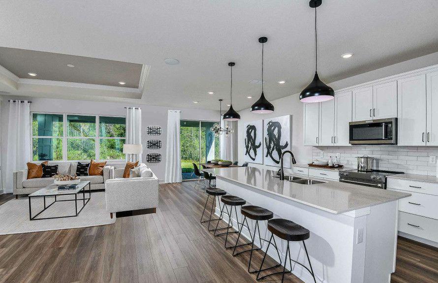 Kitchen & Gathering Room