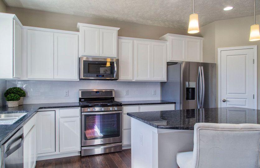 Newberry:Kitchen with Stylish Pendant Lighting